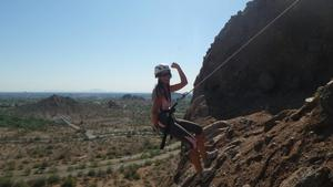 360 Adventures Rappelling Instruction