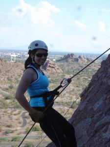 Learning to Rappel in Scottsdale