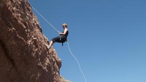 Papago Park Rappelling Class