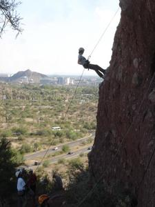 Papago Rappelling