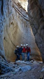 Dry Canyoneering Group Shot