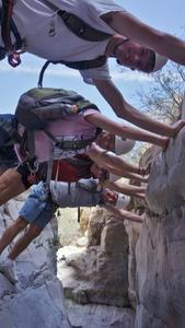 Dry Canyoneering Stemming