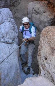 Dry Canyoneering On Rappel