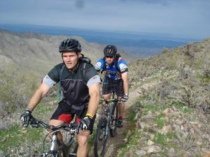 Mountain Biking on South Mountain