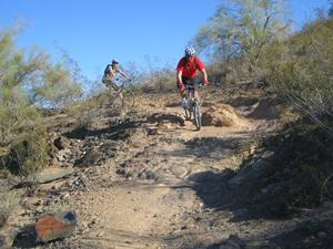 Scottsdale Mountain Bike Riding