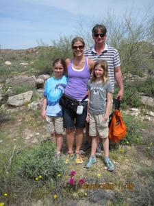 Family Hiking in Scottsdale