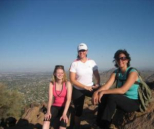 Hiking at Camelback Mountain